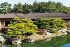 Сад Kokoen в Himeji Стоковое Изображение