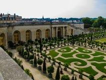 Сад L'Orangerie в Версал Франция paris Стоковое Изображение
