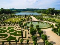 Сад L'Orangerie в Версал paris Стоковое фото RF