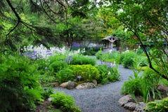 сад landscaped Стоковые Фотографии RF