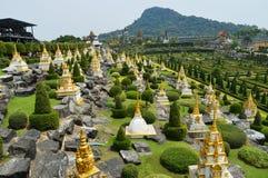 Сад Nong Nooch в Паттайя стоковое изображение