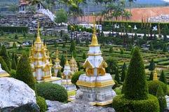 Сад Nong Nooch в Паттайя стоковые фотографии rf