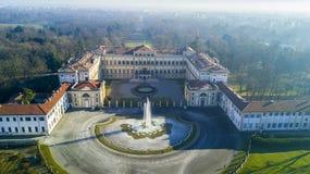 Сад Reale виллы, Монца, Италия Стоковая Фотография