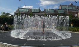 Сад Rijksmuseum фонтана Стоковые Изображения