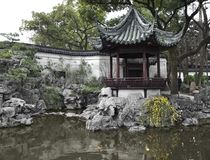 сад shanghai yuyuan Стоковая Фотография RF