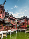 Сад Yu или сад Yuyuan, Шанхай Стоковые Фото