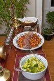 сбалансированная еда Стоковое Изображение RF
