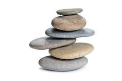 сбалансированная каменная башня Стоковые Фото