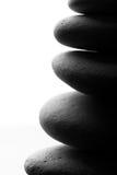 сбалансированные камни стога принципиальной схемы Стоковое фото RF