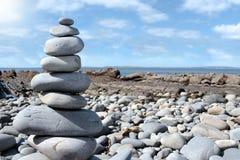 сбалансированный утес Стоковые Изображения RF