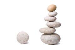 сбалансировано с камней Стоковые Изображения RF