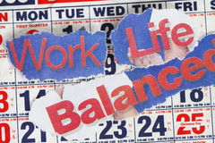 сбалансируйте работу всей жизни Стоковая Фотография RF
