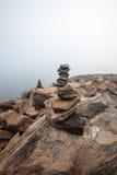 Сбалансированные камни Стоковые Изображения RF
