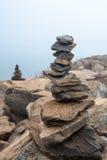 Сбалансированные камни Стоковое фото RF