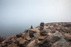 Сбалансированные камни Стоковое Фото