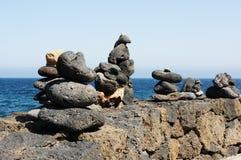 Сбалансированный камень Стоковая Фотография RF