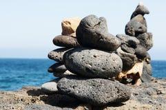 Сбалансированный камень Стоковое фото RF