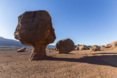 Сбалансированный утес в северной Аризоне Стоковая Фотография