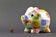 сбережениа евро Стоковые Изображения RF