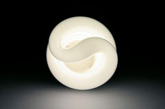 сбережениа света энергии шарика Стоковое Изображение