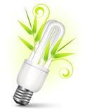 сбережениа света энергии шарика иллюстрация вектора