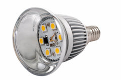 сбережениа светильника энергии диода Стоковая Фотография RF