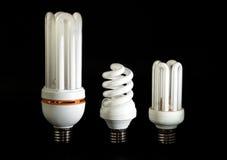 сбережениа светильника энергии Стоковые Изображения