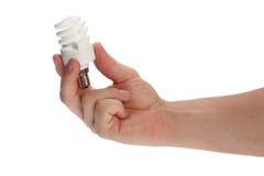 сбережениа светильника энергии Стоковые Фотографии RF