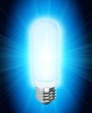 сбережениа светильника энергии стоковое фото rf