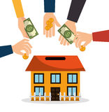 Сбережение и инвестирование денег бесплатная иллюстрация