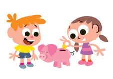 Сбережения детей Стоковые Фотографии RF