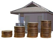 Сбережения для того чтобы купить концепцию дома или домашних сбережений Стоковые Фото