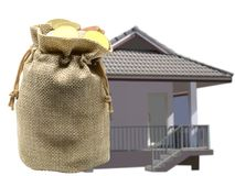 Сбережения для того чтобы купить концепцию дома или домашних сбережений Стоковая Фотография RF