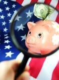 сбережения доллара Стоковое Фото