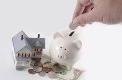 Сбережения ипотеки Стоковая Фотография