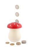 сбережения монетки банка Стоковая Фотография RF