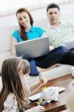 Сбережения семьи Стоковые Фотографии RF