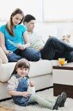 Сбережения семьи Стоковое Фото