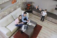 Сбережения семьи Стоковое фото RF