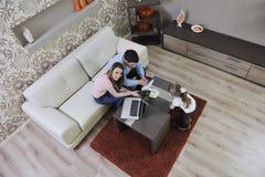 Сбережения семьи Стоковые Изображения
