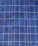 сбережения способные к возрождению будущей панели энергии крупного плана фотовольтайческие солнечные Стоковое Изображение