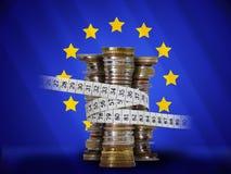 сбережения eu Стоковые Фотографии RF
