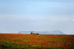 Сборы трактора Стоковая Фотография