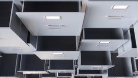Сбор данных в контейнерах - перевод 3D Стоковые Изображения RF