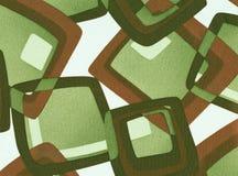 сбор винограда абстрактной предпосылки геометрический Стоковая Фотография RF