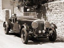 сбор винограда автомобиля открытый верхний Стоковое фото RF