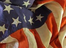 сбор винограда американского флага Стоковые Фотографии RF