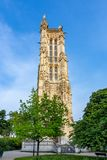 сбор винограда башни святой фото Франции jacques paris стилизованный стоковое изображение rf