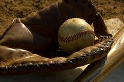 сбор винограда бейсбольной бита Стоковые Фотографии RF