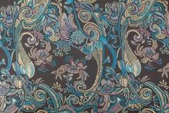 сбор винограда богато украшенный картины безшовный Стоковые Изображения